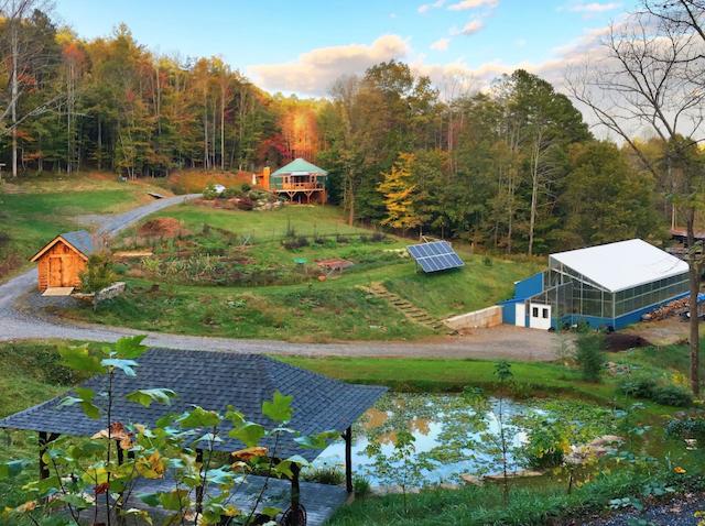 Yurt in Appalachia near Asheville