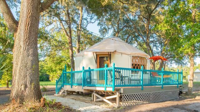 Glamping Yurt in Danville