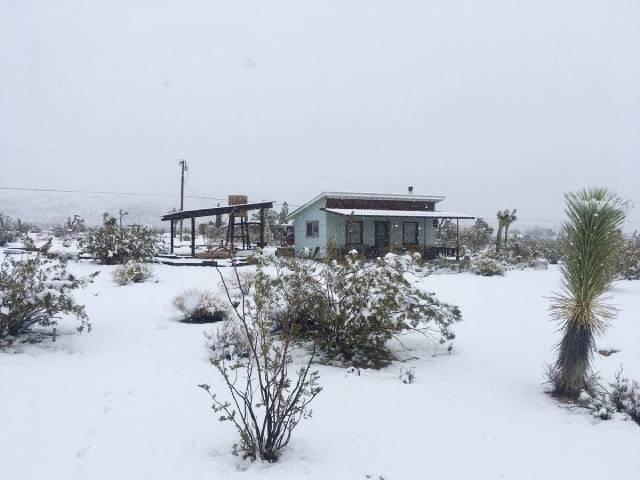 La Mancha Verde in the winter