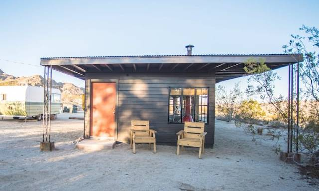 Mid-Century Hiking & Camping Cabin in Joshua Tree