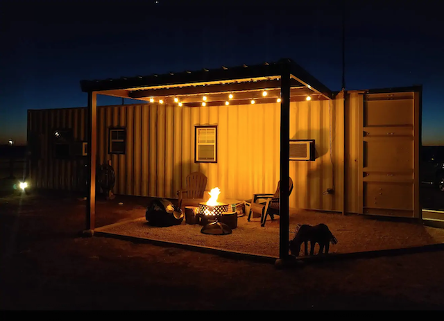 Ole Farm glamping container