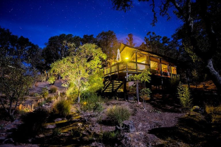 glamping in the US