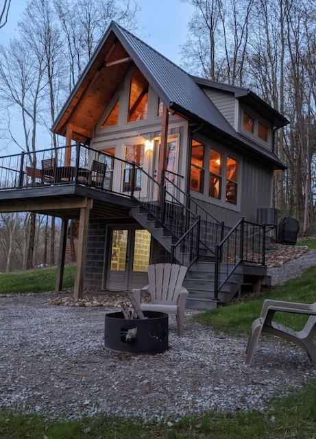 Cabin near Mohican State Forest