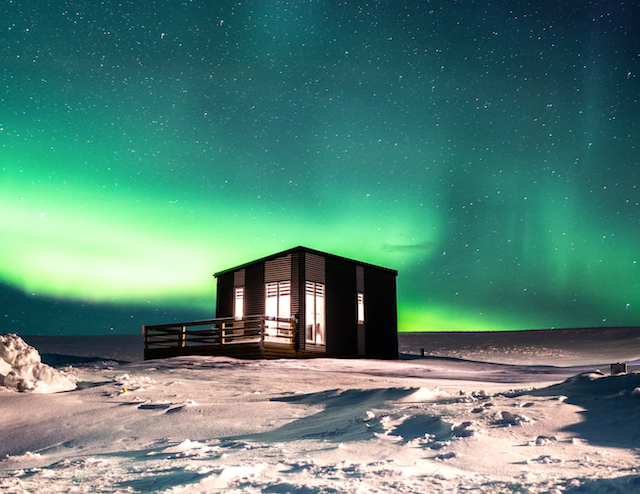 Afternoon Glamping Cottages Near Hekla