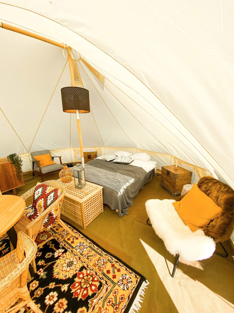 Camp Boutique Glamping Tent in Árnessýs