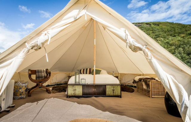 Glamping Tent With Lake View