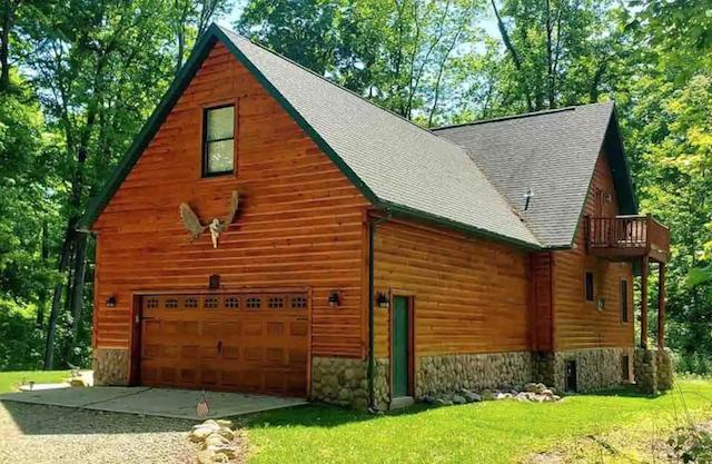 Pet friendly cabin in ohio exterior