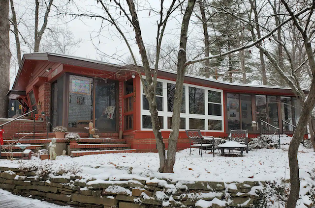 The Gathering Place Cabin on White Oak Hill exterior