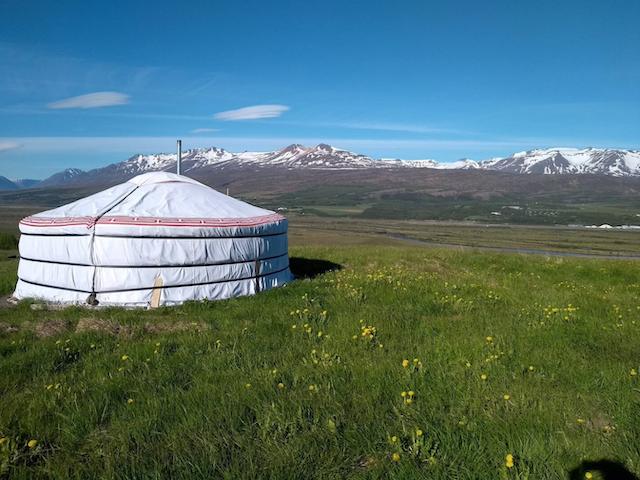 Glamping Yurt with views
